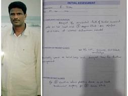 45 years old Srinu Ramayanam  needs your help fight Dorsolumbar spine