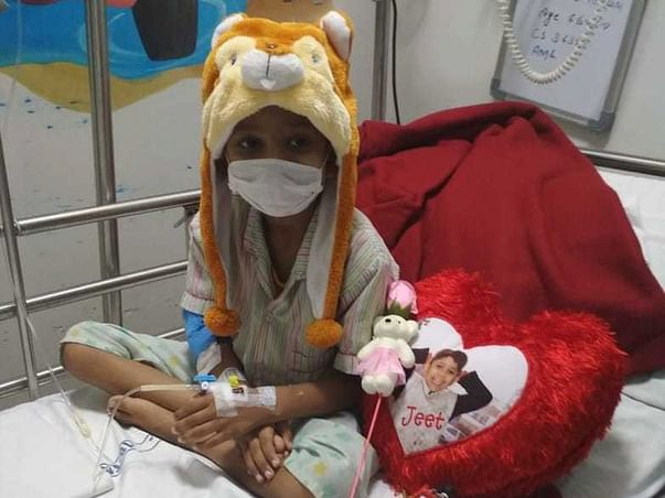 Help Jeet to Survive Blood Cancer