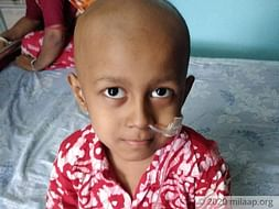 5 years old Samriddha Ghosh needs your help fight Ewing's Sarcoma