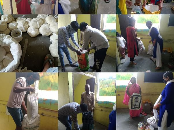 Help Us Provide Ration And Basic Essentials To Families Living In Slum