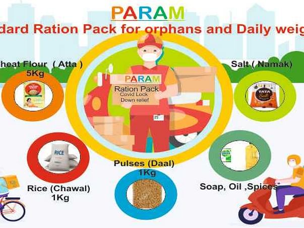 Ration Pack For Poor Families During Lock Down