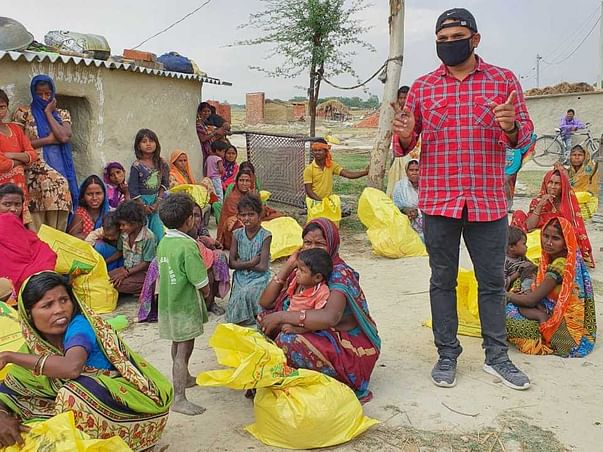Contribute To Support Of Manoj And Village
