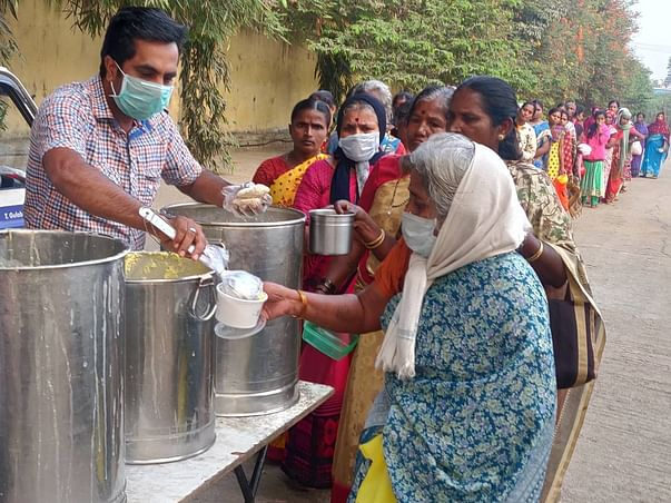Help Syed Feed Thousands Of Daily Wagers In Bengaluru