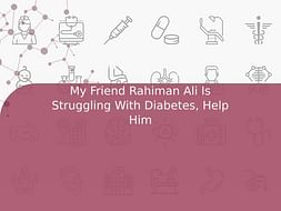 My Friend Rahiman Ali Is Struggling With Diabetes, Help Him
