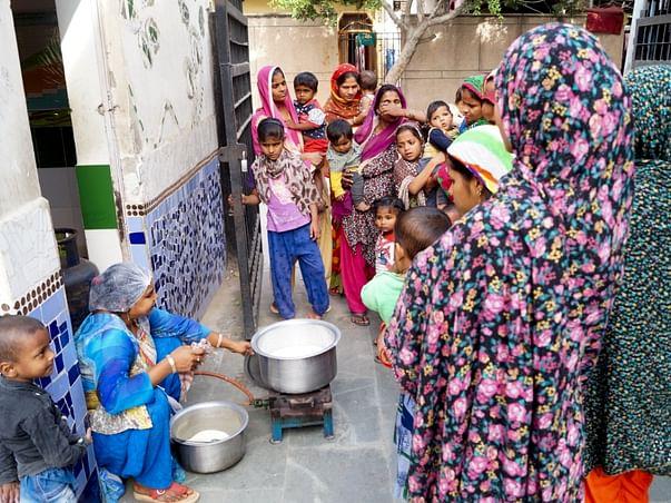A Stitch In Time: Helping Vulnerable Families Of Nizamuddin Basti