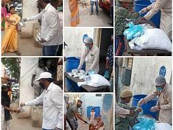 Feed 4800 People In Hyderabad Slums