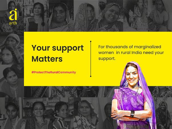 Helping Rural Women Entrepreneur Fight COVID #ProtectTheRuralCommunity