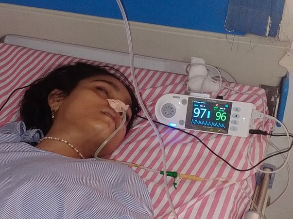 My wife in hospital please help me  He is very critical condition