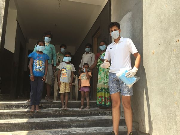 Support My Initiative To Gift A Mask