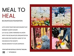 """""""Meal to Heal"""" by Dauntless Foundation for Coronavirus Food Relief"""