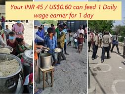 Help us feed Daily Wage Earners in Delhi NCR during the Lockdown
