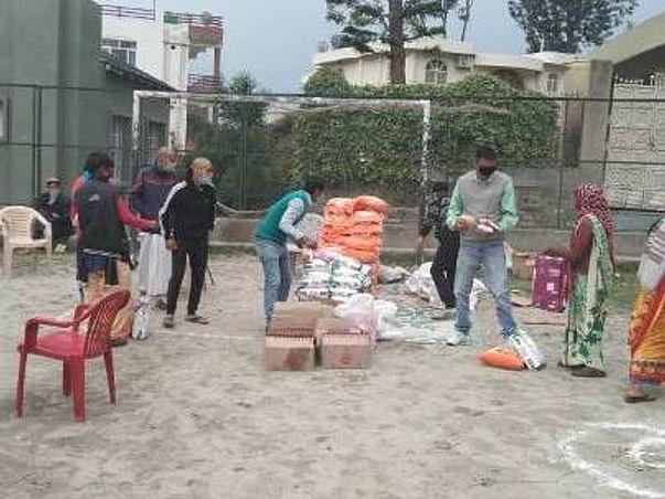 Feed the Needy In Almora(Uttarakhand) During COVID-19 Lockdown