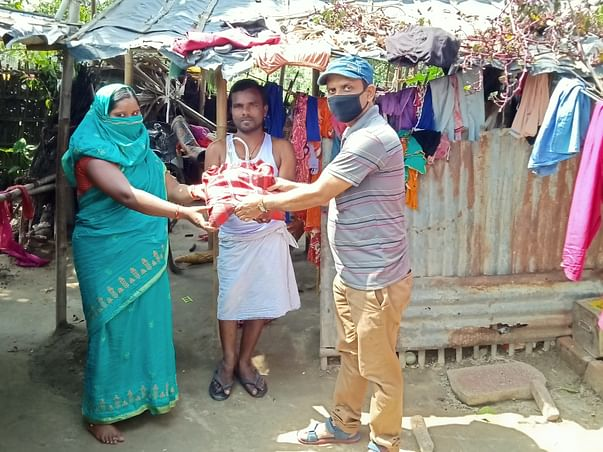 Help Rupesh to feed the hungry people