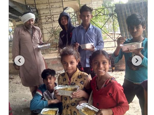 Help poor people with food in Lockdown