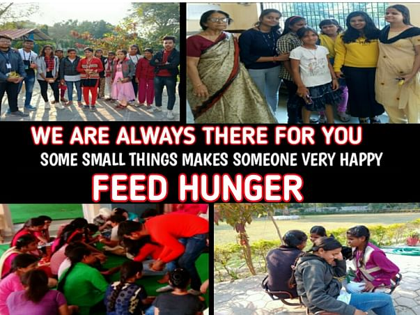 Let's Join Our Army To FEED THE HUNGER