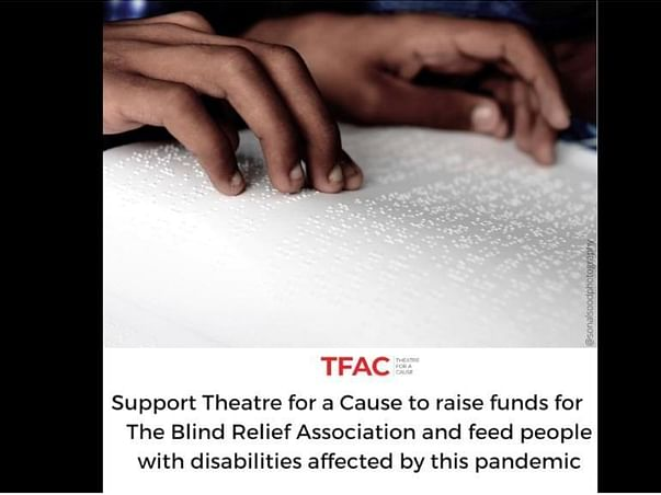 Support The Blind Relief Association and feed People with Disabilities
