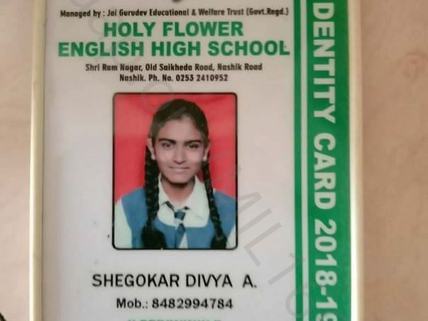 Support   To  Divya For Complete Higher Education