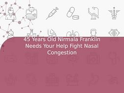 45 Years Old Nirmala Franklin Needs Your Help Fight Nasal Congestion