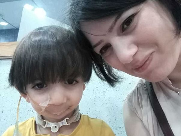 Help 2 year old  Avyaan fight Pierre Robin Syndrome