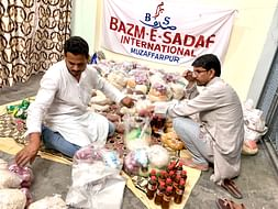 Donate For COVID19 Lockdown Affected People,BAZM-E-SADAF International