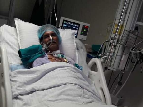 My Father Is Struggling With Lung Failure, Help Him