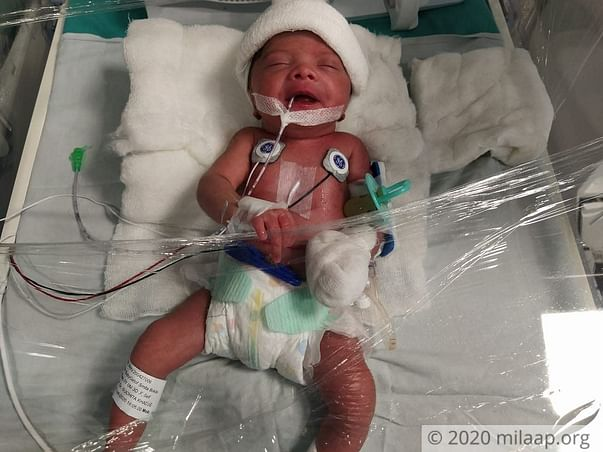This Man Is Struggling To Save His Newborn And His Sick Wife