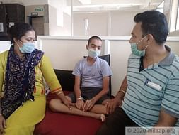 Help 14 year old Vignesh get chemotherapy