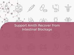 Support Amith Recover From Intestinal Blockage