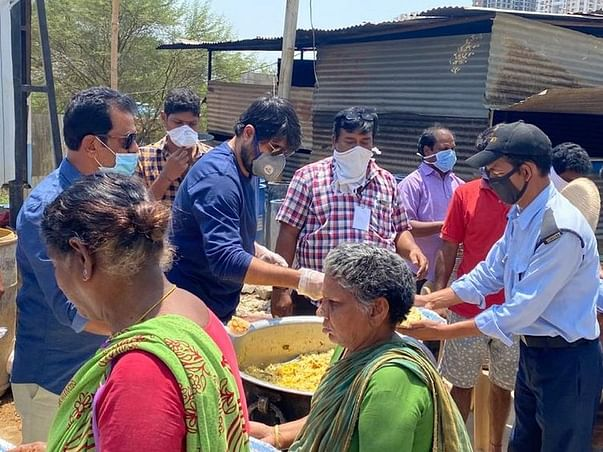 Help Rajashekharareddy to Feed Thousands Of Homeless & Daily Wagers