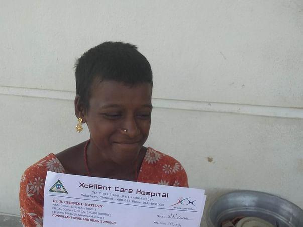 Help Vijaylakshmi family to survival ❤