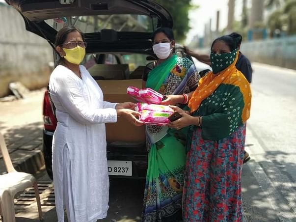 Help Kavach with sanitation and COVID-19 Relief