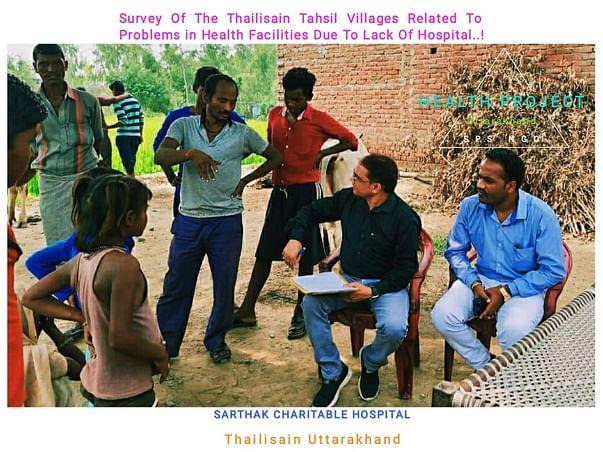 EK PAHAL, Health Project Uttarakhand India