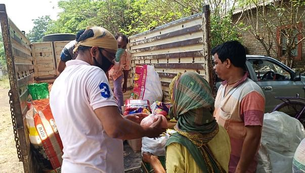 Phase 1 Distribution to 25 families on 17th April
