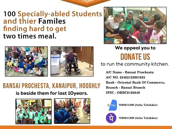 Community Kitchen for Specially Abled Children