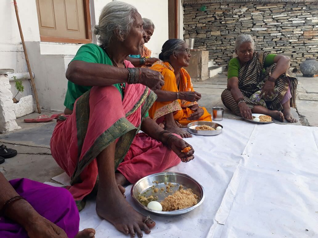 Donating nutrition meal sponsorship for poor oldage persons in india milaap