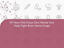59 Years Old Chaya Devi Needs Your Help Fight Brain Hemorrhage