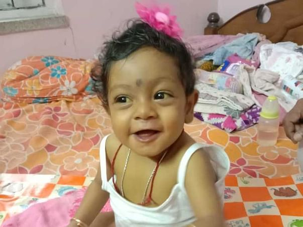 8 months old Tanvi Hazra needs your help fight Acute Liver Failure
