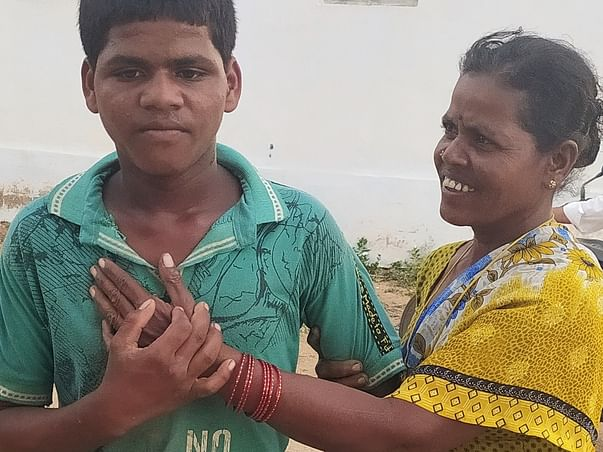 Help balraju fight mental illness and seizures.
