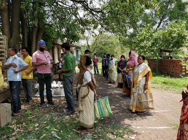 Phase 2 Distribution to 32 families on 12th May 2020