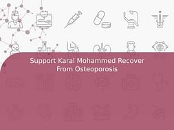 Support Karal Mohammed Recover From Osteoporosis