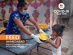 Providing Relief Kits To Wage Worker & Low-Income Groups In Ahmedabad