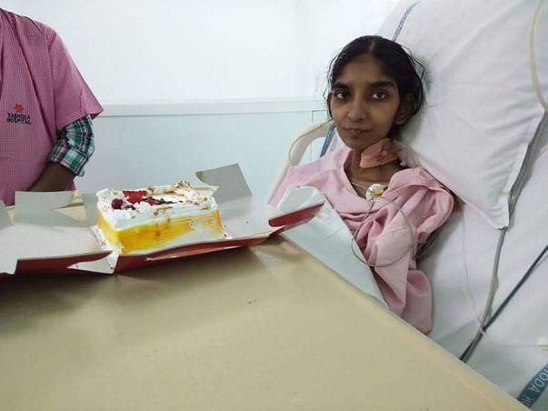 Help Mounika To Fight Throat Cancer