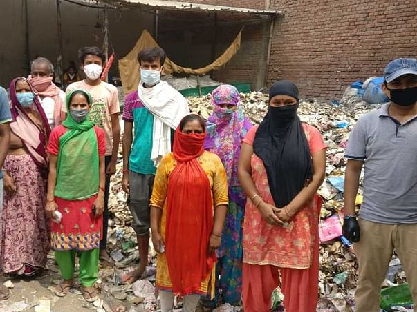 COVID19 Relief Work - Support for Sewer Workers & Daily Wage Labourers