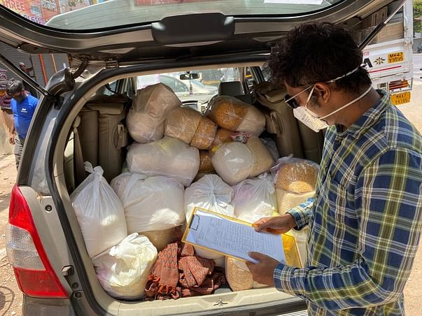 Support Equivi Group to Provide Ration to Migrant Families