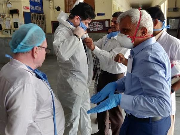 PPE & Masks for Front-line Health Workers Fighting COVID-19