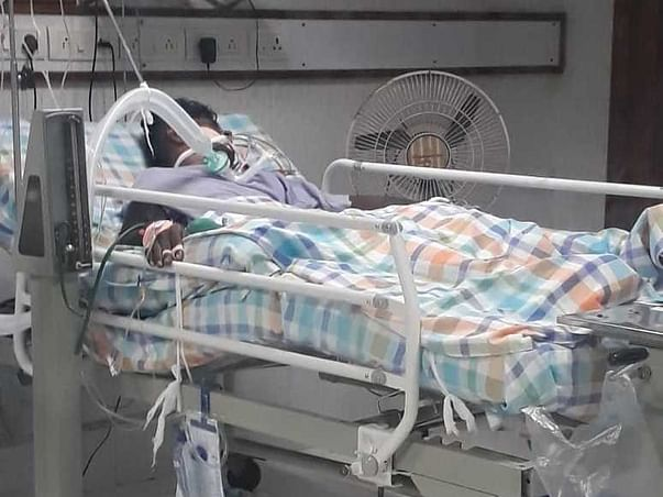 Help my brother Jaya Raju recover from road traffic accident injuries (In ICU Care)