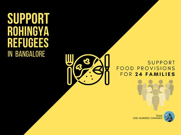 Support Rohingya Refugees With Food Provisions