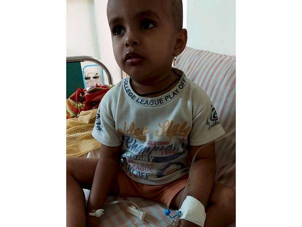 2 years old Arnav Nilesh Parashar  needs your help fight Blood Cancer