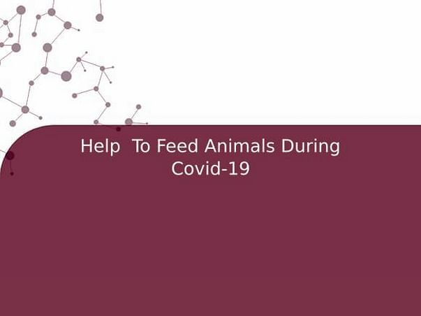Help  To Feed Animals During Covid-19