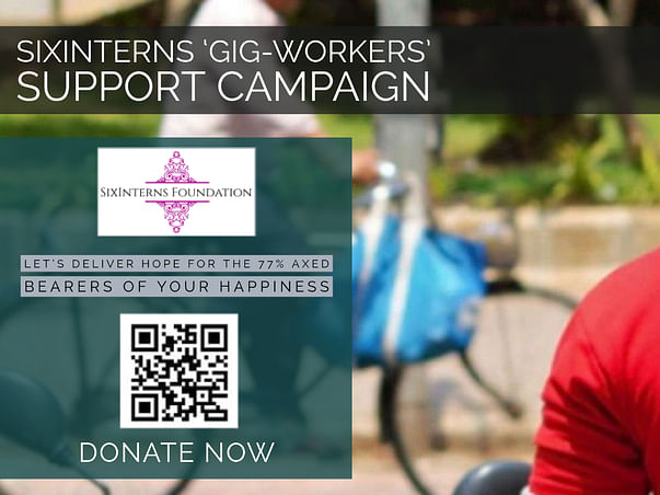 Sixinterns 'Gig-Workers' Support Fund